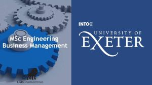 MSc Engineering Business Management