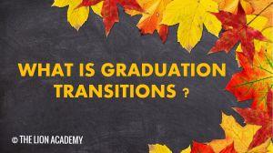 วิชา Graduation Transitionsในระบบการศึกษาที่แคนาดา คืออะไร