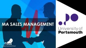 MA Sales Management at University of Portsmouth