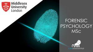 MSc Forensic Psychology at Middlesex University