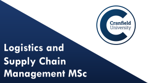 Logistics and Supply Chain Management MSc