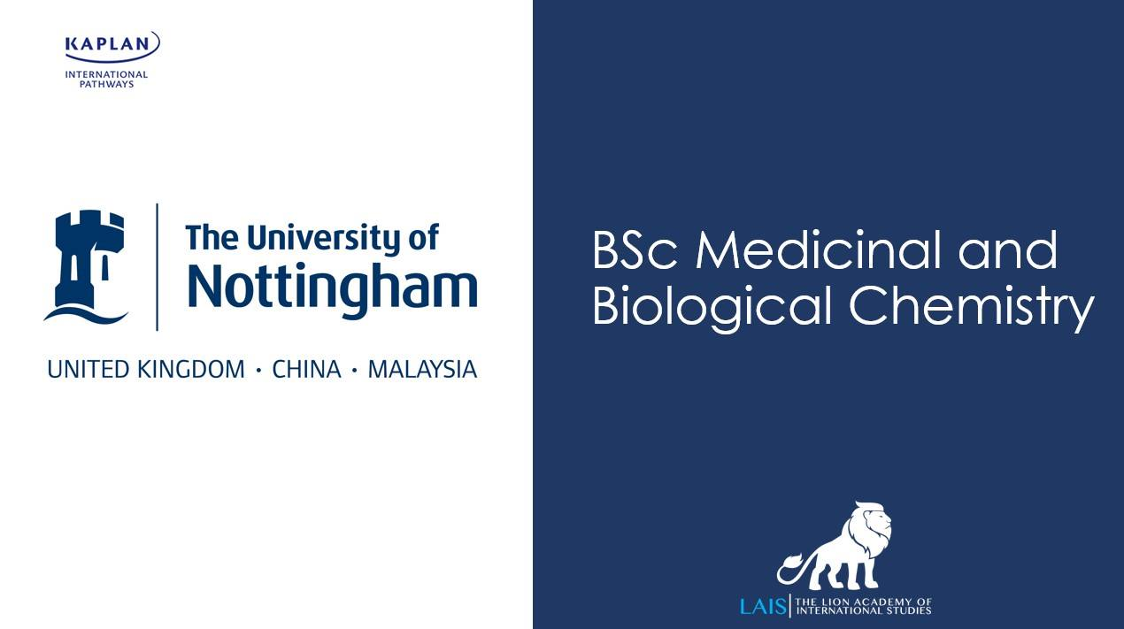 BSc Medicinal and Biological Chemistry
