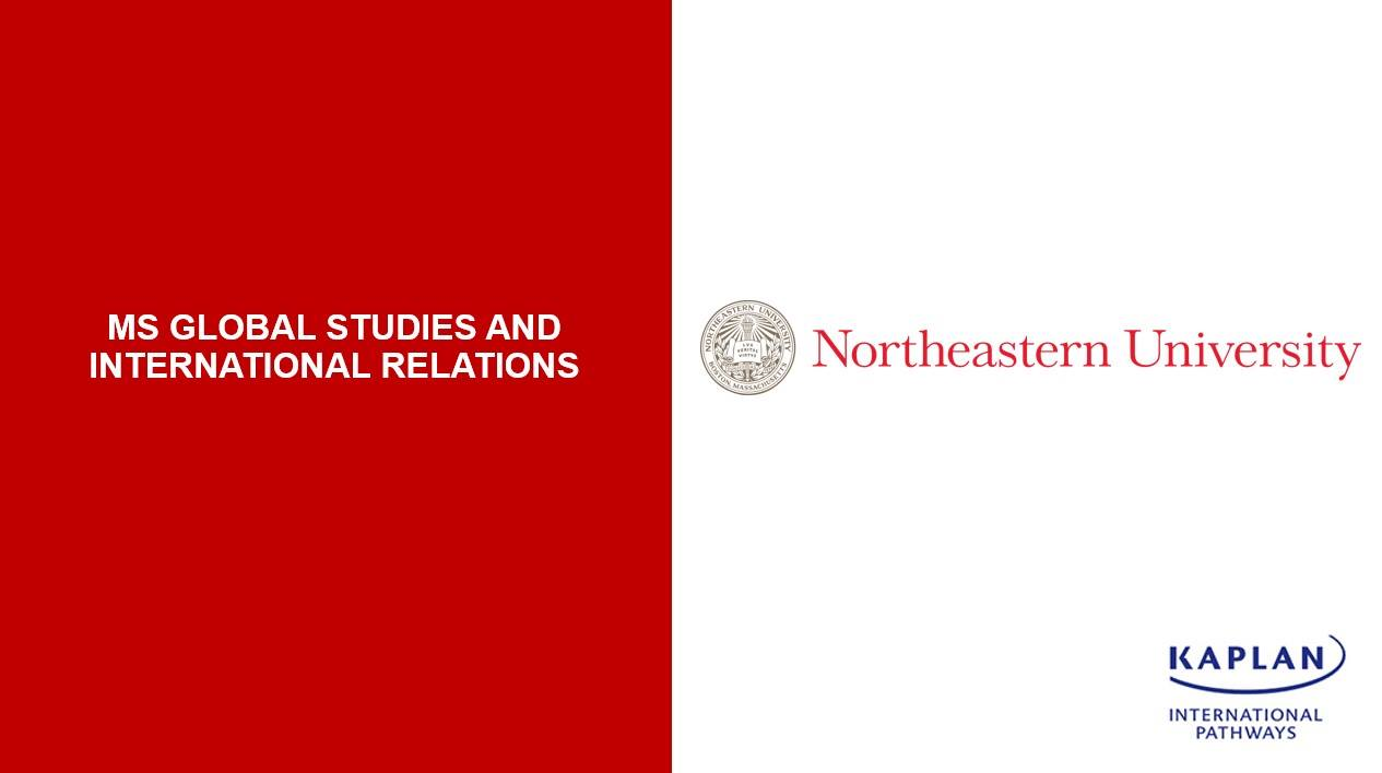 Master's degree in Global Studies and International Relations