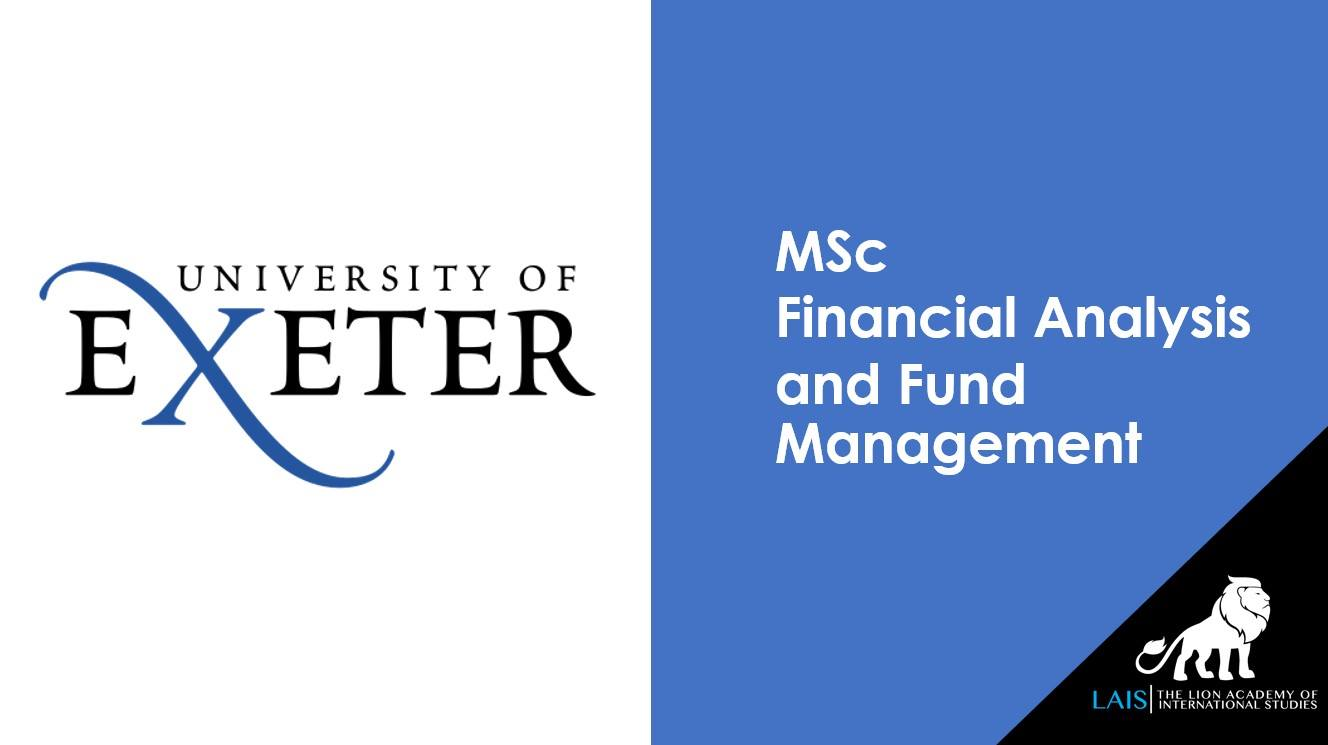 MSc Financial Analysis and Fund Management