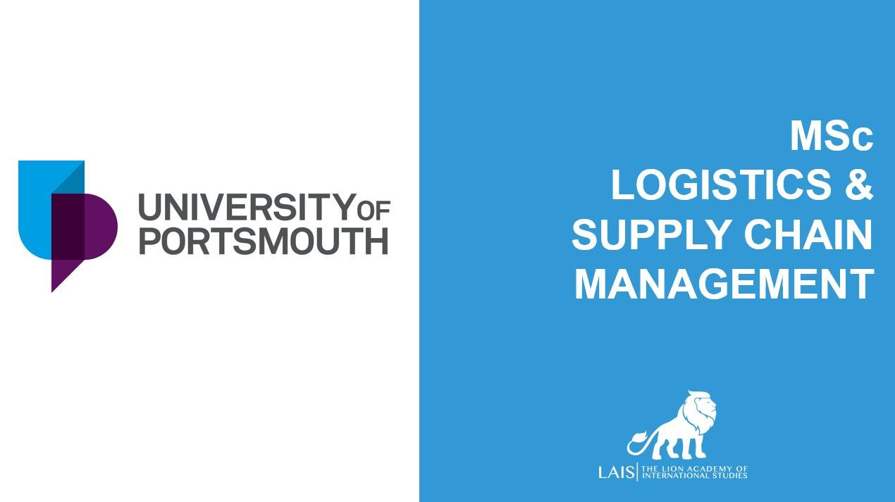 MSc Logistic and Supply Chain Management